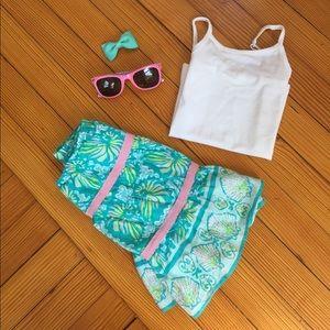  Lilly Pulitzer Seashell Skirt Size 4